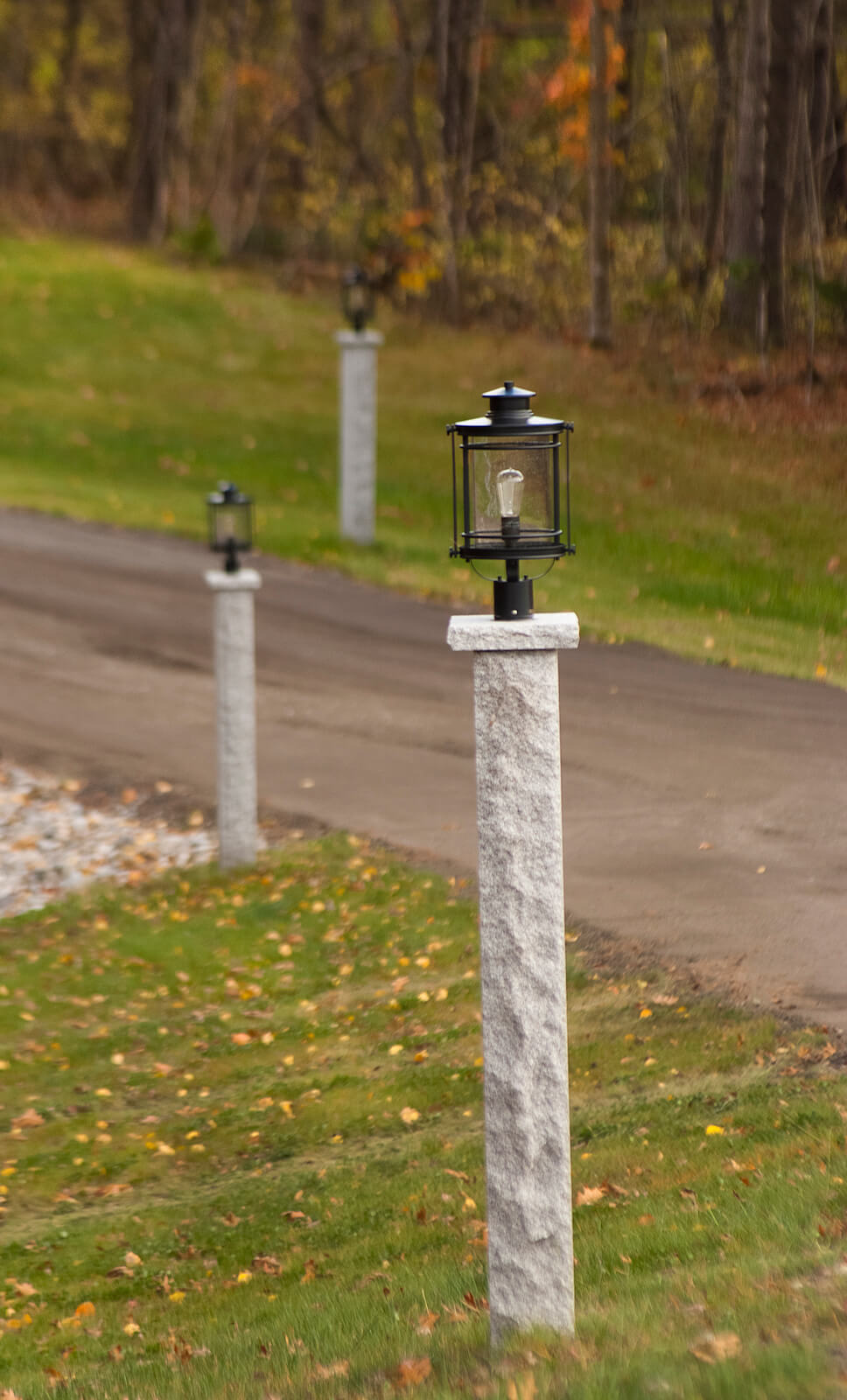 Granite Posts | Swenson | 100% Natural Stones | U S A