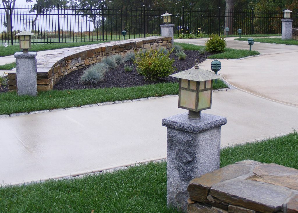 Granite Post Woodbury Gray 440 Swenson Granite 100