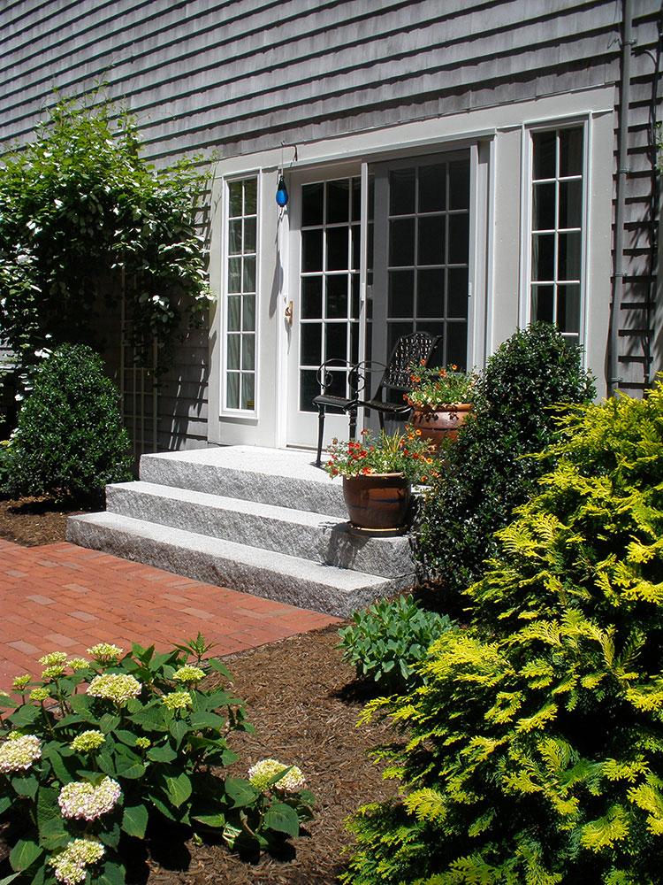 id spacer woodbury gray granite step stoop granite entry entry steps staircase zoom