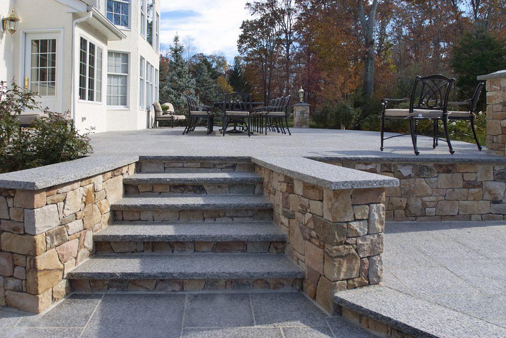Steps And Treads Caledonia Granite 1446 Swenson Granite