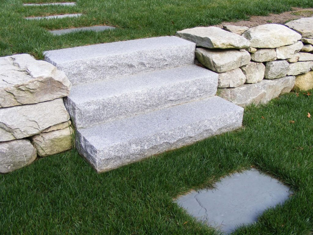 Steps And Treads Woodbury Gray Granite 1459 Swenson