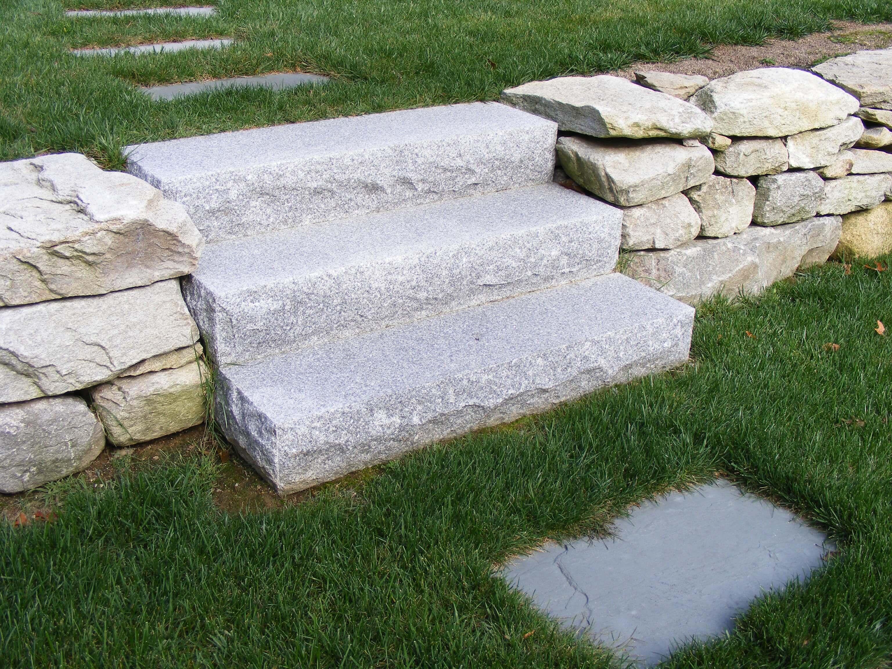 Steps And Treads Woodbury Gray Granite 1436 Swenson