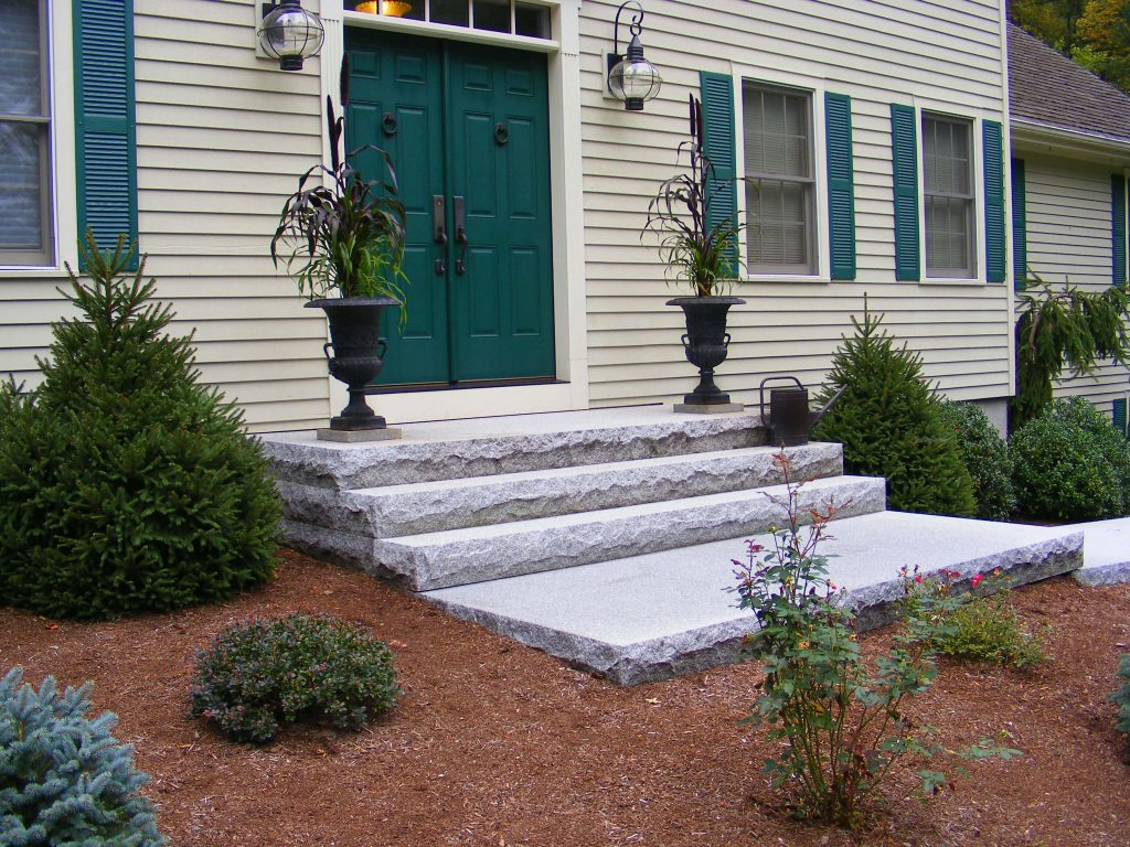 Steps And Treads Woodbury Gray Granite 1443 Swenson
