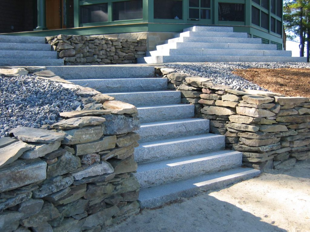 Steps And Treads Woodbury Gray Granite 1442 Swenson