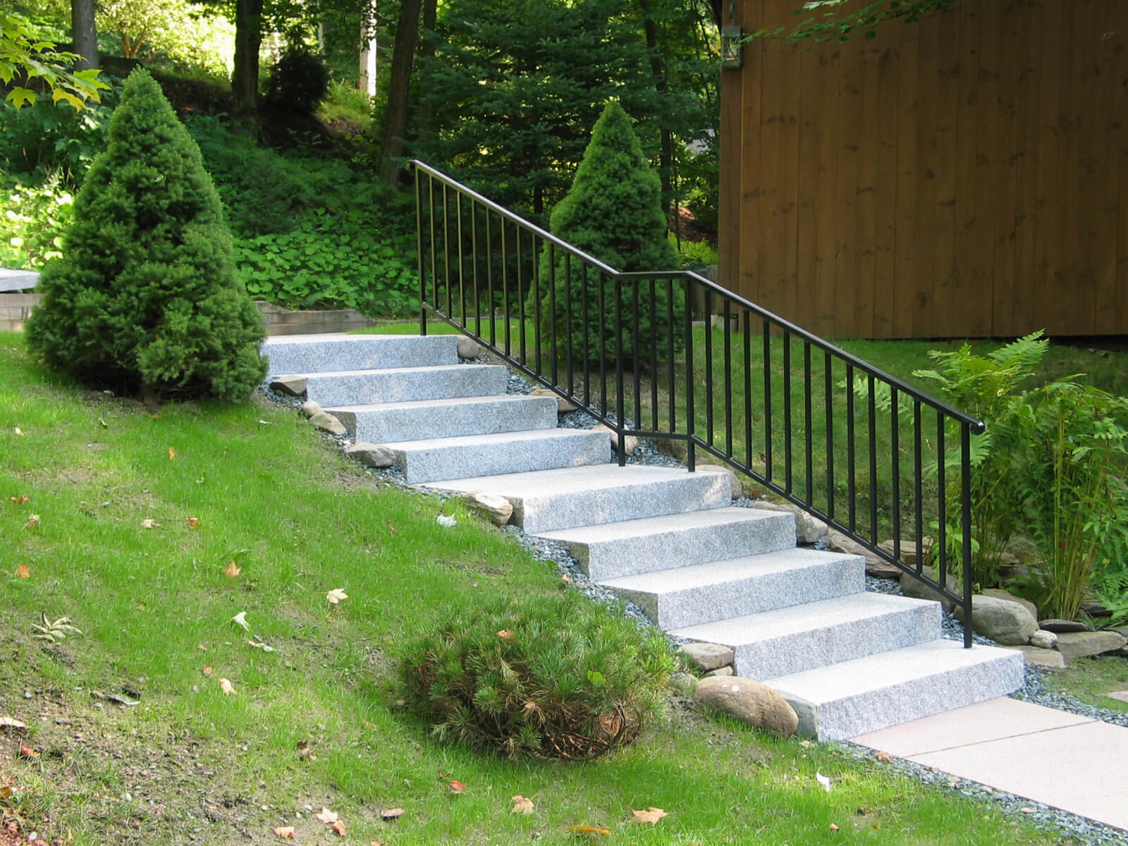 Steps And Treads Woodbury Gray Granite 1441 Swenson