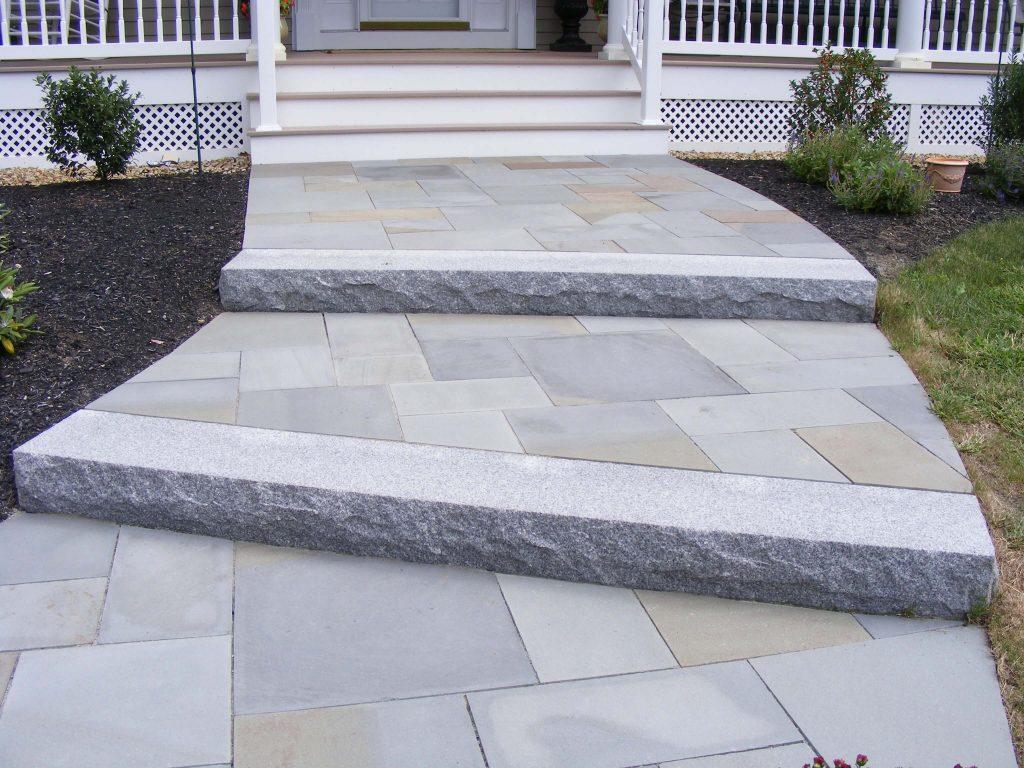 Steps And Treads Woodbury Gray Granite 1439 Swenson