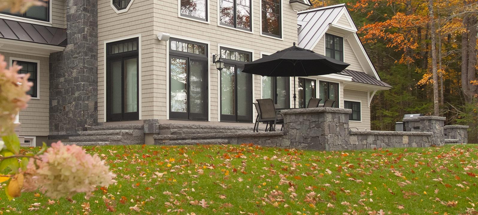 Swenson Granite Works Caledonia Granite Steps Cap Pavers